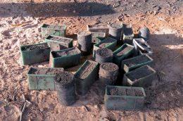 High power explosives in Kilinochchi