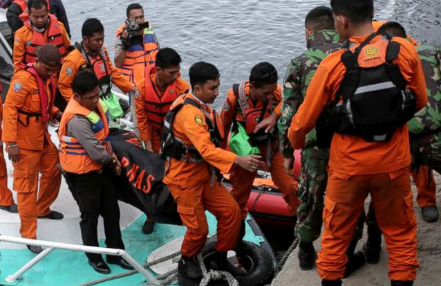 Indonesian ferry sank