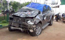 Range Bandara's son injured in accident