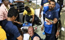 Sri Lankan cricketer Kusal Janith Perera was injured