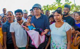 Sri Lanka President Maithripala Sirisena in Polonnaruwa