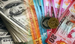 Sri Lanka rupee vs US dollar