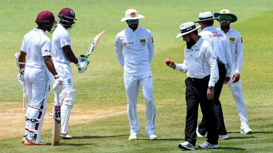 Sri Lanka Vs West Indies on Cricket ball tampering