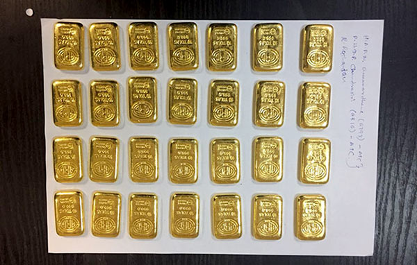 28 gold biscuits