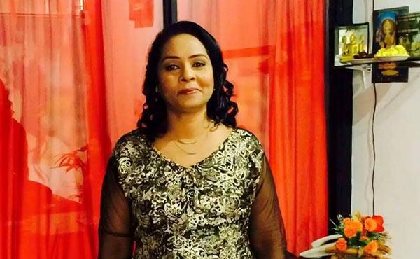 Singer Priyani Jayasinghe