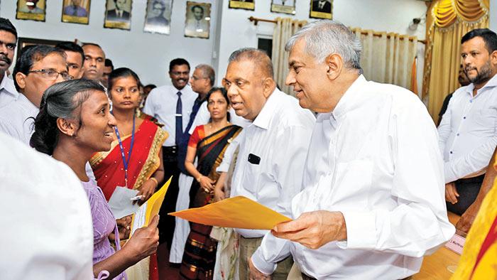 Sri Lanka Prime Minister Ranil Wickramasinghe in Jaffna