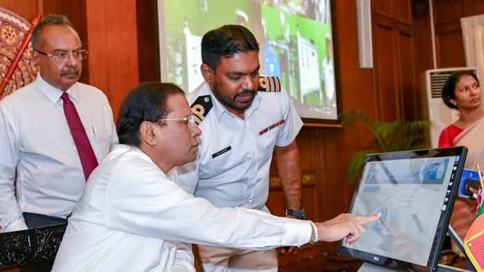 Sri Lanka President Maithripala Sirisena's Gama hadana gamana programme