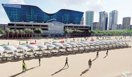 World class beach park from Kollupitiya to Dehiwela