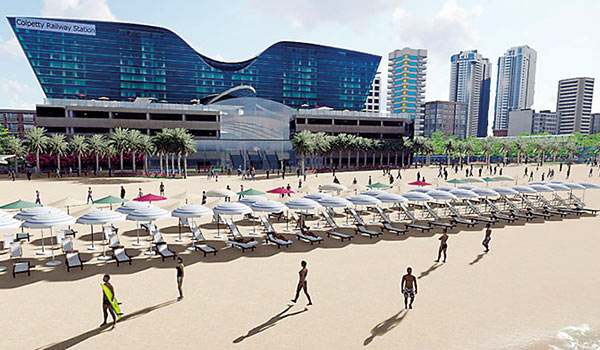 World class beach park from Kollupitiya to Dehiwela