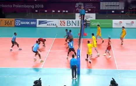 China Vs Sri Lanka Volleyball match