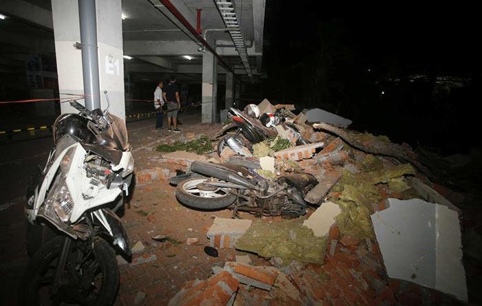 Earthquake in Lombok Indonesia