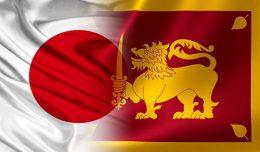 Japan Sri Lanka flags
