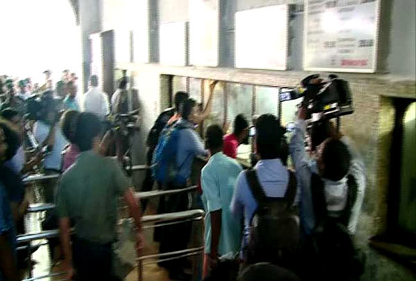 Railway commuters have launched strike in Sri Lanka