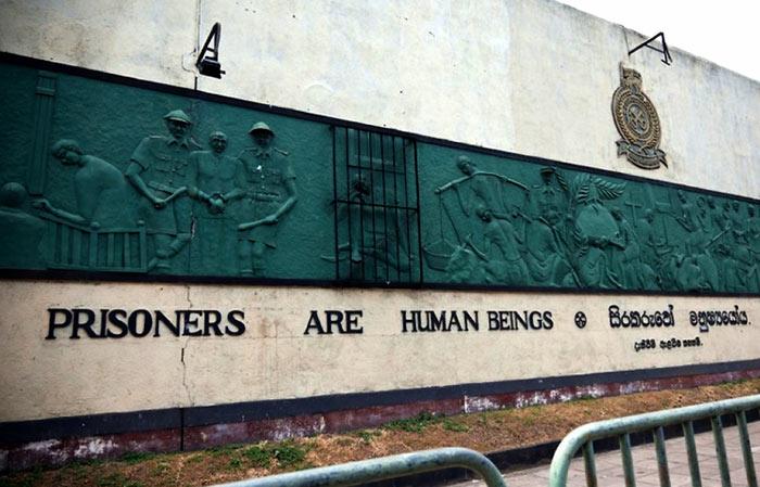 Welikada prison in Sri Lanka