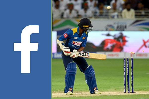 Facebook Vs Sri Lanka cricket