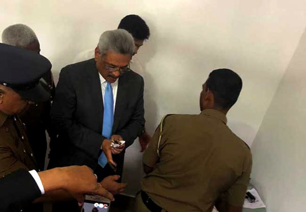 Gotabaya Rajapaksa released on bail