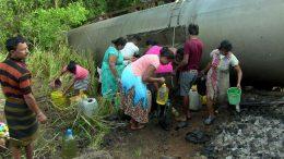 Habarana fuel train accident