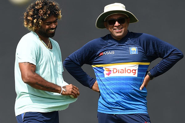 Lasith Malinga and Chandika Hathurusinghe