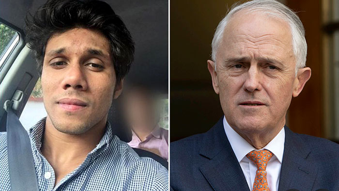 Mohamed Nizamdeen and Malcolm Turnbull