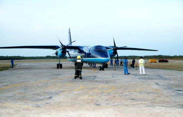 Palali airport in Sri Lanka