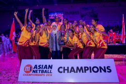 Sri Lanka wins Asian Netball Championship 2018