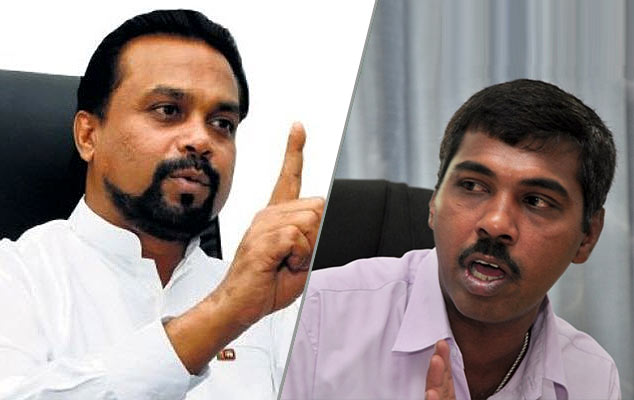 Wimal Weerawansa and Prasanna Ranaweera