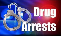 Drug arrests