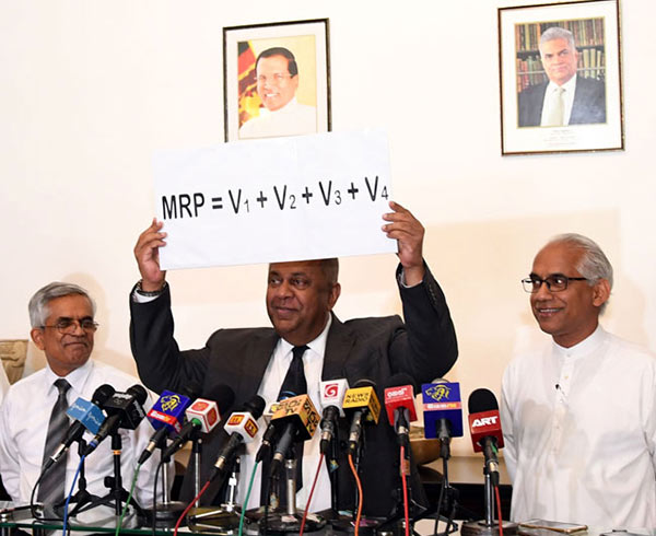 Fuel price formula in Sri Lanka
