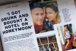 I got drunk and bought a hotel on honeymoon Gina Lyons and Mark Lee