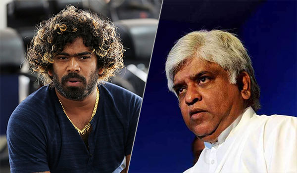 Lasith Malinga and Arjuna Ranatunga