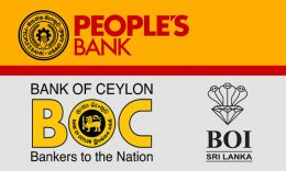 People's Bank - Bank of Ceylon and Board of investments Sri Lanka logos