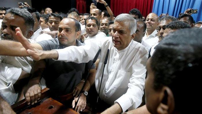 Ranil Wickremesinghe - Sri Lanka Prime Minister sacked
