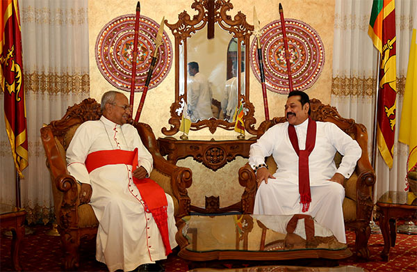 Sri Lanka Prime Minister meets Archbishop Malcolm Ranjith
