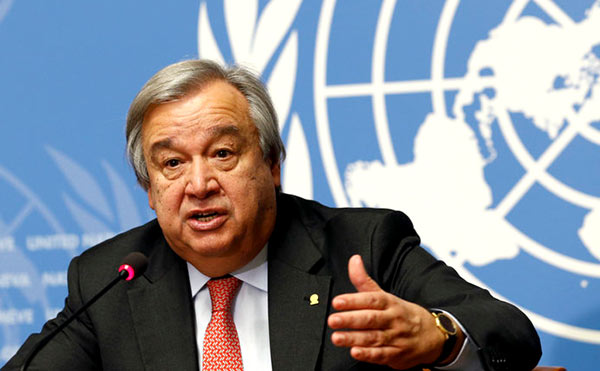 Antonio Guterres - UN Secretary General