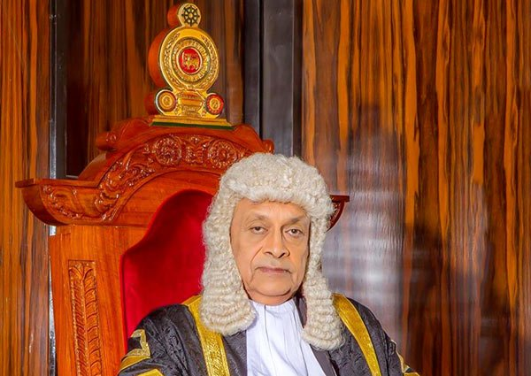 Karu Jayasuriya - Speaker of the Parliament of Sri Lanka