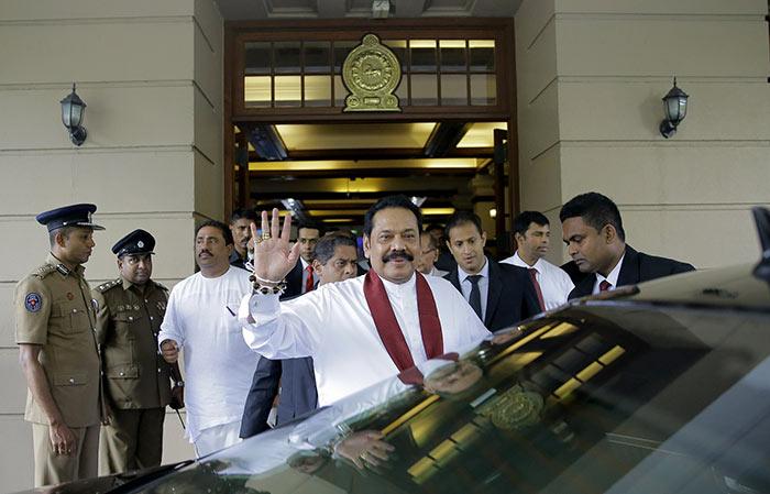 Mahinda Rajapaksa - New Prime Minister of Sri Lanka