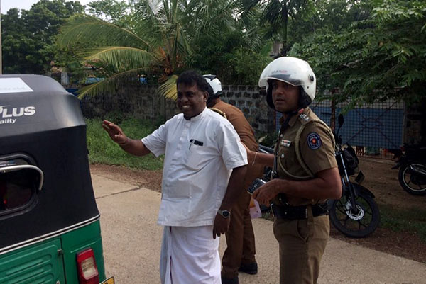 M.K. Sivajilingam arrested with Prabhakaran's Birthday cake