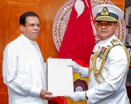 K.K.T.Piyal de Silva - new Navy commander of Sri Lanka appointed