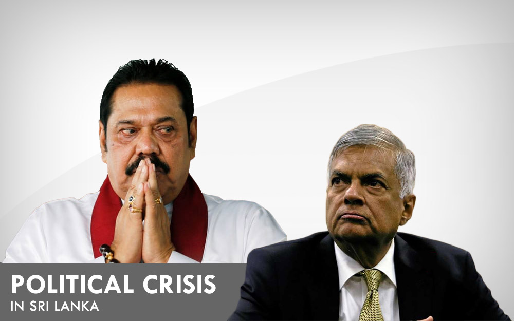 Political crisis in Sri Lanka - Mahinda Vs Ranil