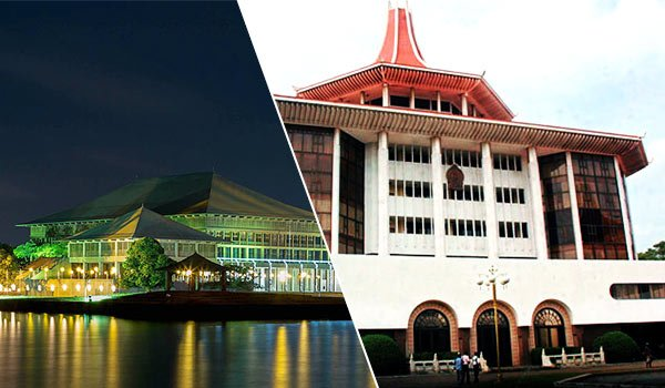 Sri Lanka Parliament and Supreme Court