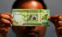 Thousand 1000 Sri Lanka rupee note
