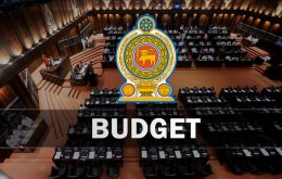 Budget in Sri Lanka Parliament