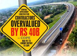 Central Expressway construction in Sri Lanka contractors overvalued by Rs. 40 billion cope