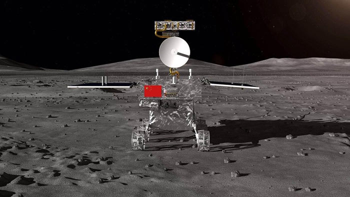 China's Chang'e-4 probe lands on far side of the moon