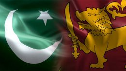 Pakistan Sri Lanka flags