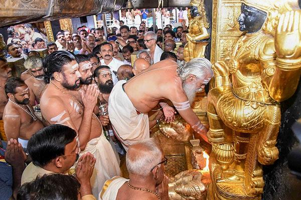 Sabarimala tantri Kandararu Rajeevararu