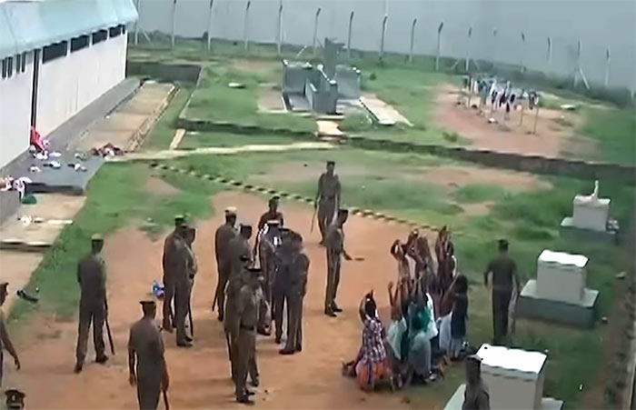 Torture at Angunukolapelessa prison in Sri Lanka