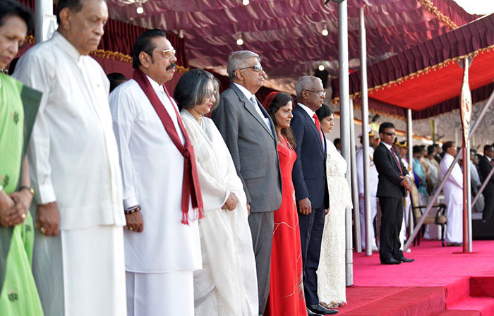 71st National day celebration in Sri Lanka