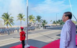 71st National day celebration in Sri Lanka
