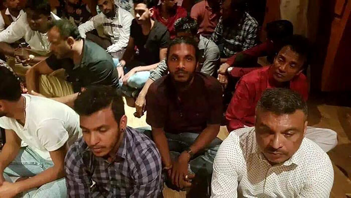 Amal Perera, Nadimal Perera were arrested along with Makandure Madush